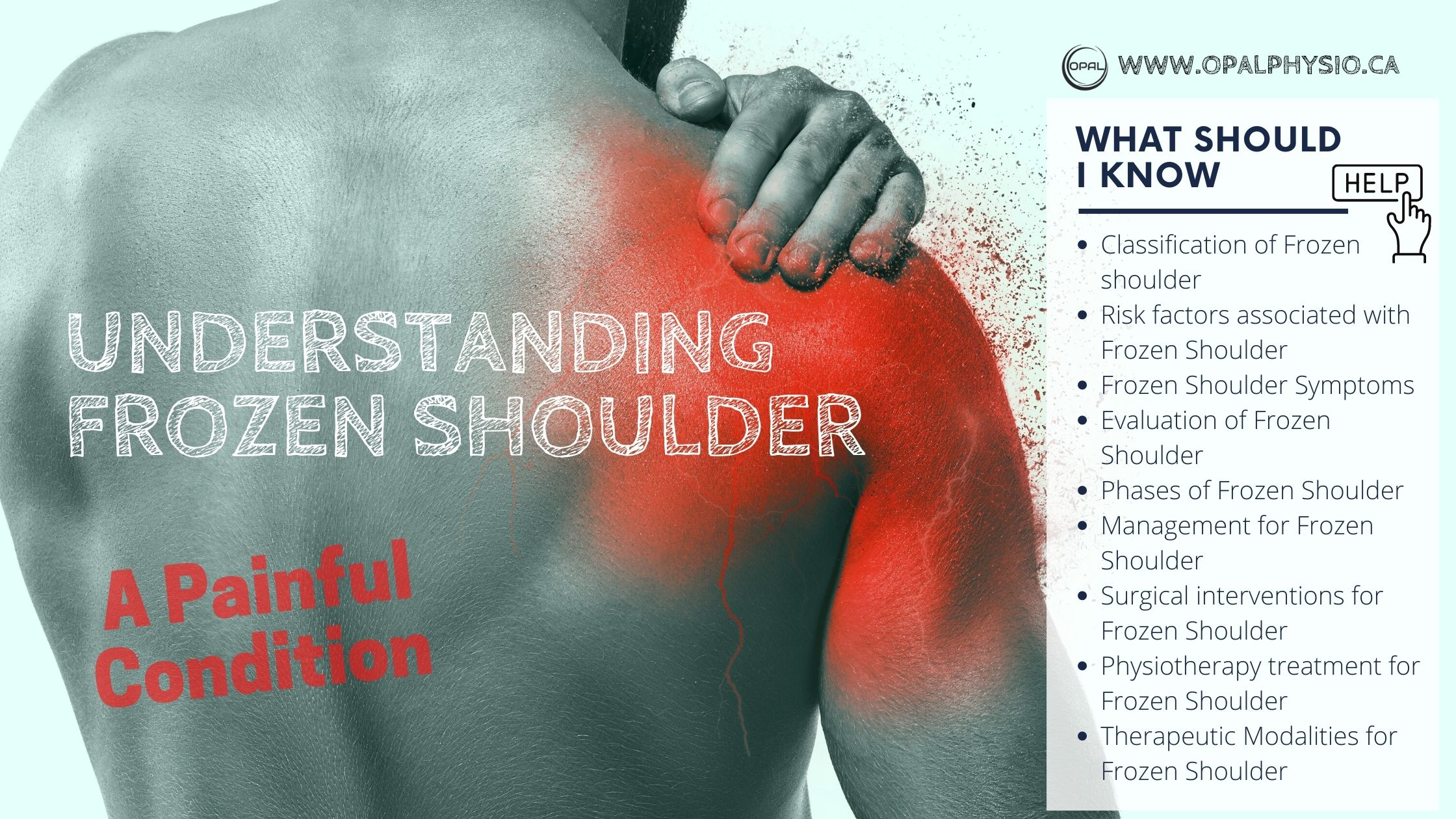 Understanding Frozen Shoulder – A Painful Condition Part-1