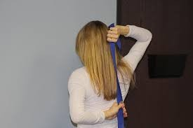 Shoulder Towel Stretches