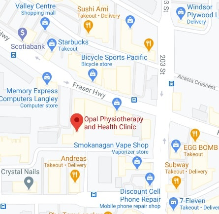 Physiotherapy Langley BC Location