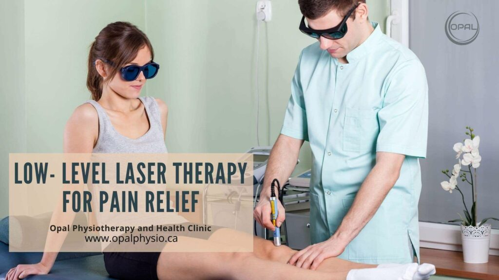 Low-Level Laser Therapy Treatment