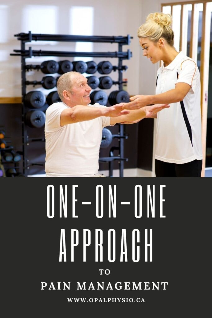 one-on-one physiotherapy
